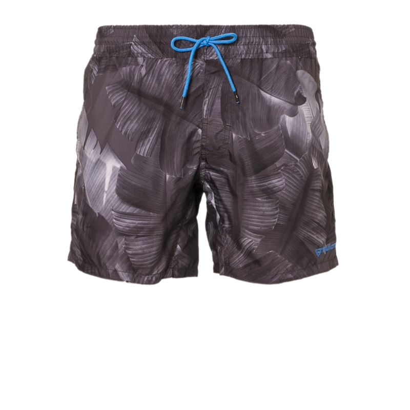 Brunotti Crunot  (zwart) - heren zwemshorts - Brunotti online shop
