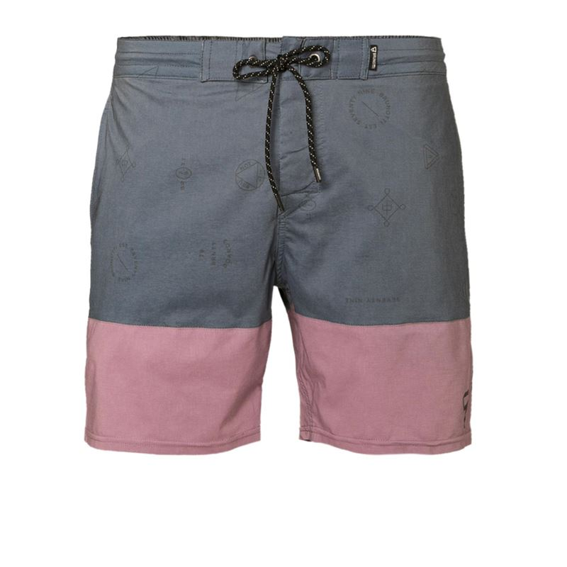Brunotti Dustin Men Shorts (Blauw) - HEREN ZWEMSHORTS - Brunotti online shop