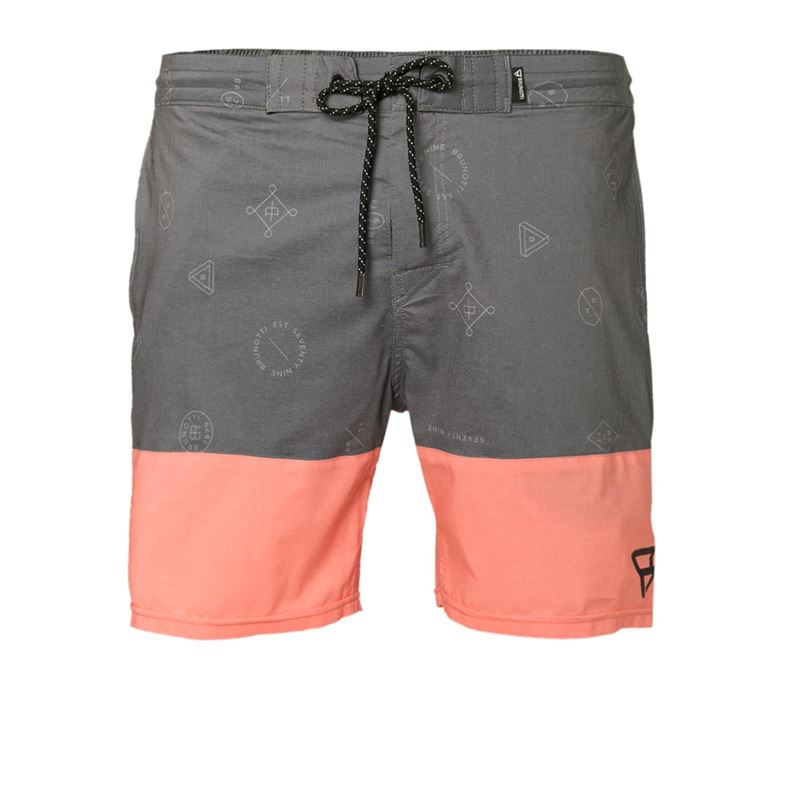 Brunotti Dustin  (zwart) - heren zwemshorts - Brunotti online shop