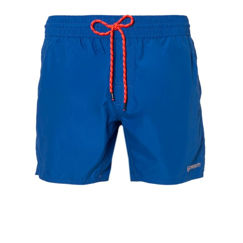 Brunotti Crisp  (blauw) - heren zwemshorts - Brunotti online shop