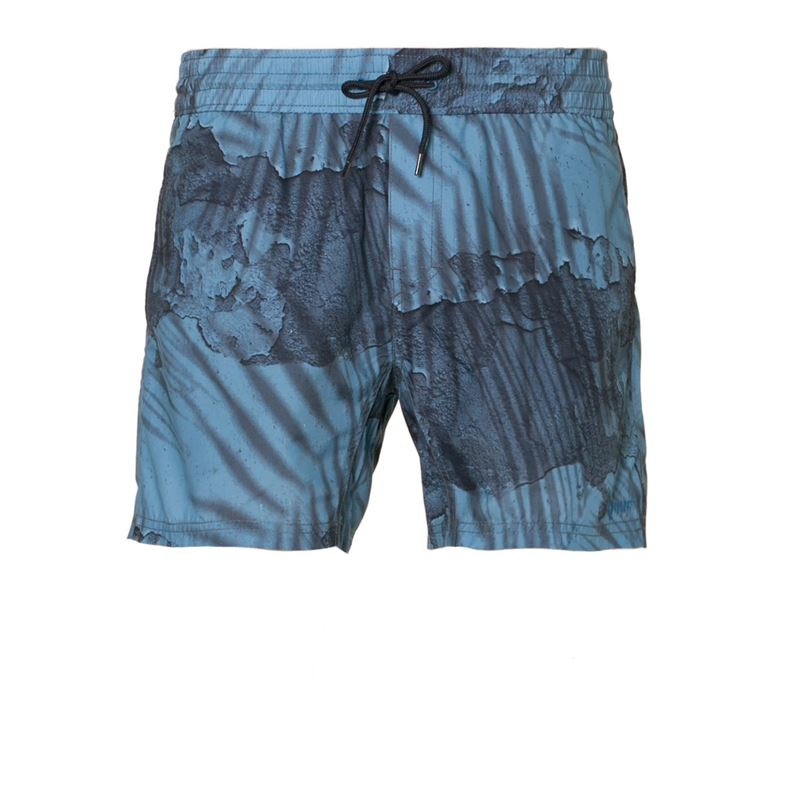 Brunotti Wileyp S Men Shorts (Blauw) - HEREN ZWEMSHORTS - Brunotti online shop