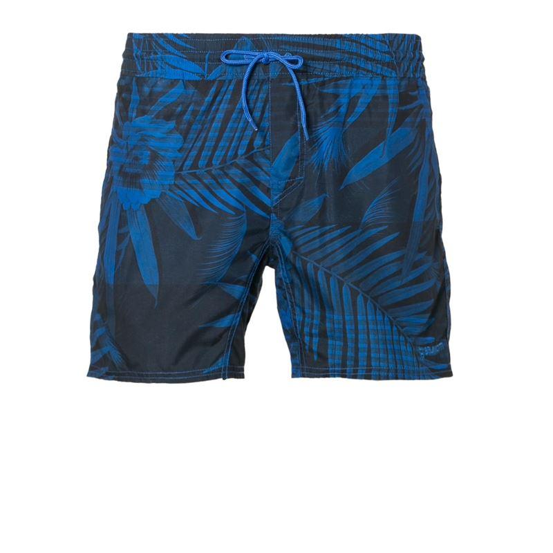 Brunotti Wes  (blauw) - heren zwemshorts - Brunotti online shop