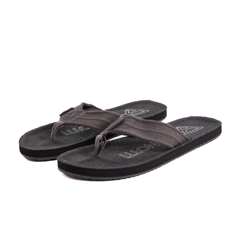 Brunotti Chukaroo  (zwart) - heren slippers - Brunotti online shop