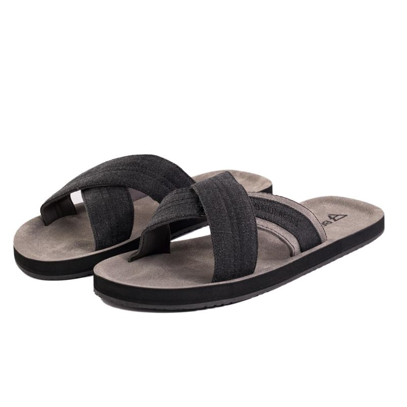 Brunotti Ebbet  (black) - men flip flops - Brunotti online shop
