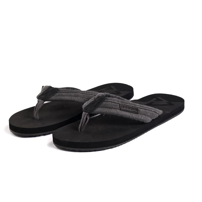 Brunotti Pistachia Men Slipper (Black) - MEN FLIP FLOPS - Brunotti online shop