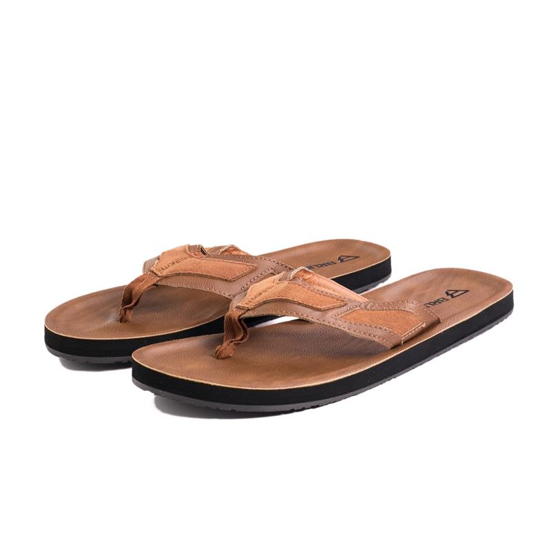 Brunotti Tide  (bruin) - heren slippers - Brunotti online shop