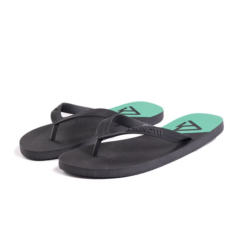 Brunotti Broadleaf  (black) - men flip flops - Brunotti online shop