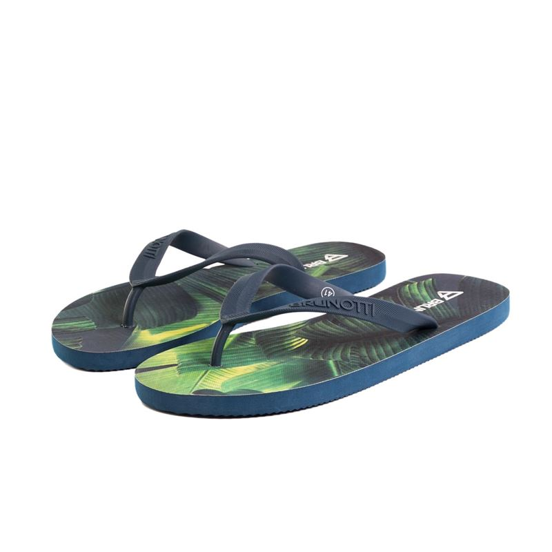 Brunotti Evergreen  (blue) - men flip flops - Brunotti online shop