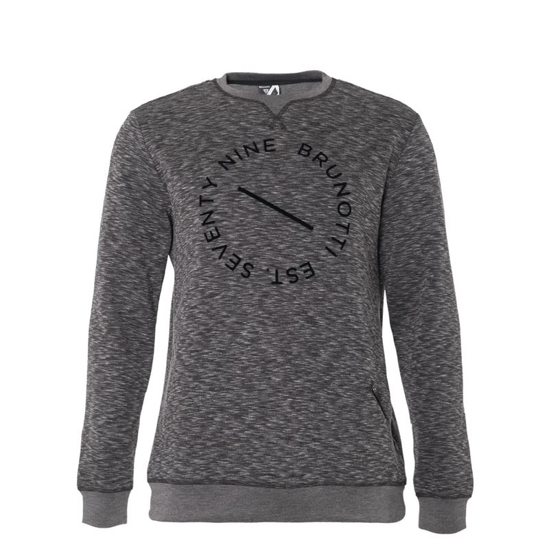 Brunotti Elroy  Men Sweat (Grey) - MEN JUMPERS & CARDIGANS - Brunotti online shop