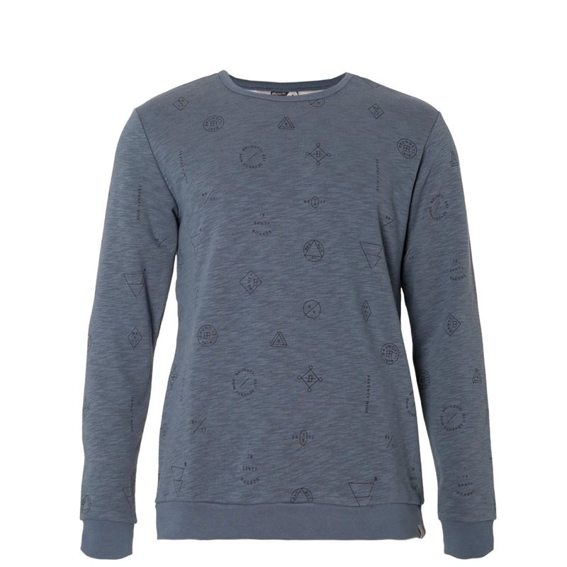 Brunotti Davin Men Sweat (Blau) - HERREN PULLOVER & STRICKJACKEN - Brunotti online shop