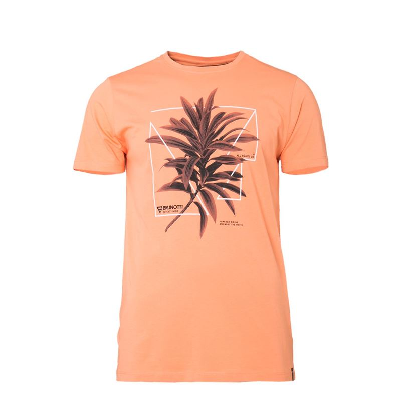 Brunotti Warped  (orange) - herren t-shirts & polos - Brunotti online shop