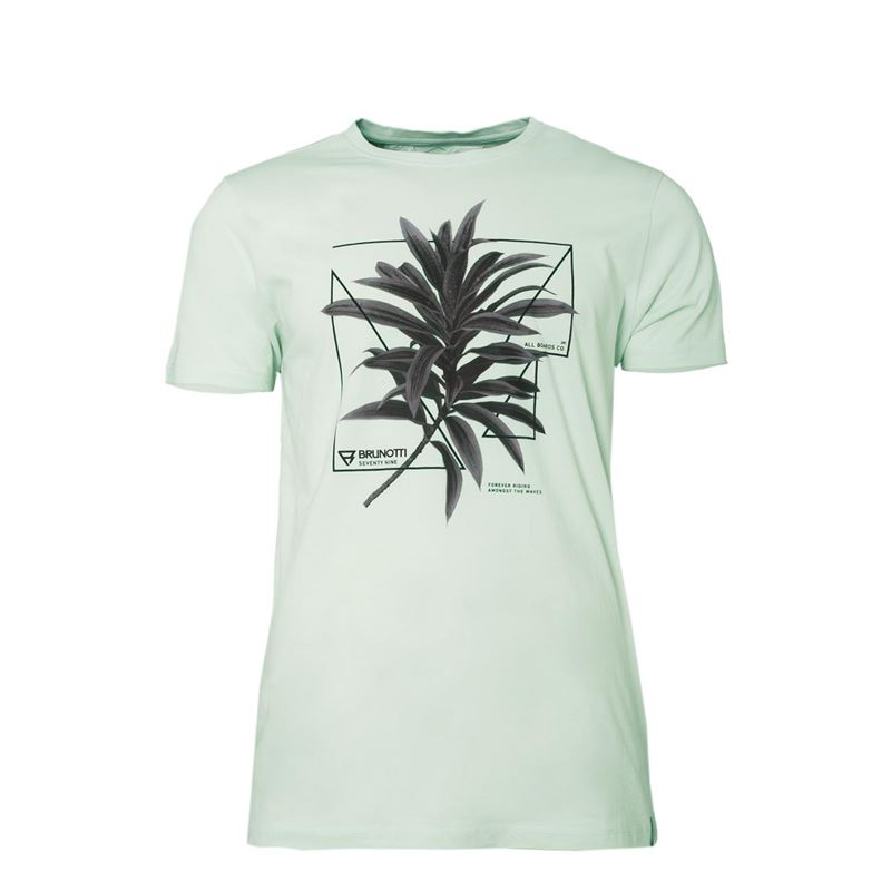 Brunotti Warped  (wit) - heren t-shirts & polo's - Brunotti online shop