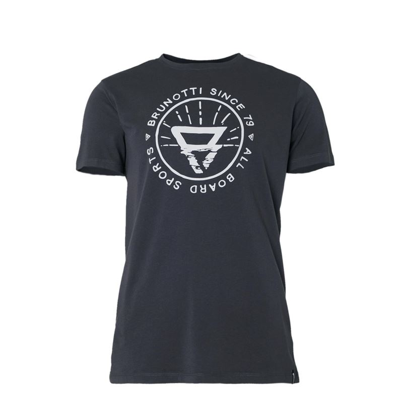 Brunotti Warped  (grey) - men t-shirts & polos - Brunotti online shop