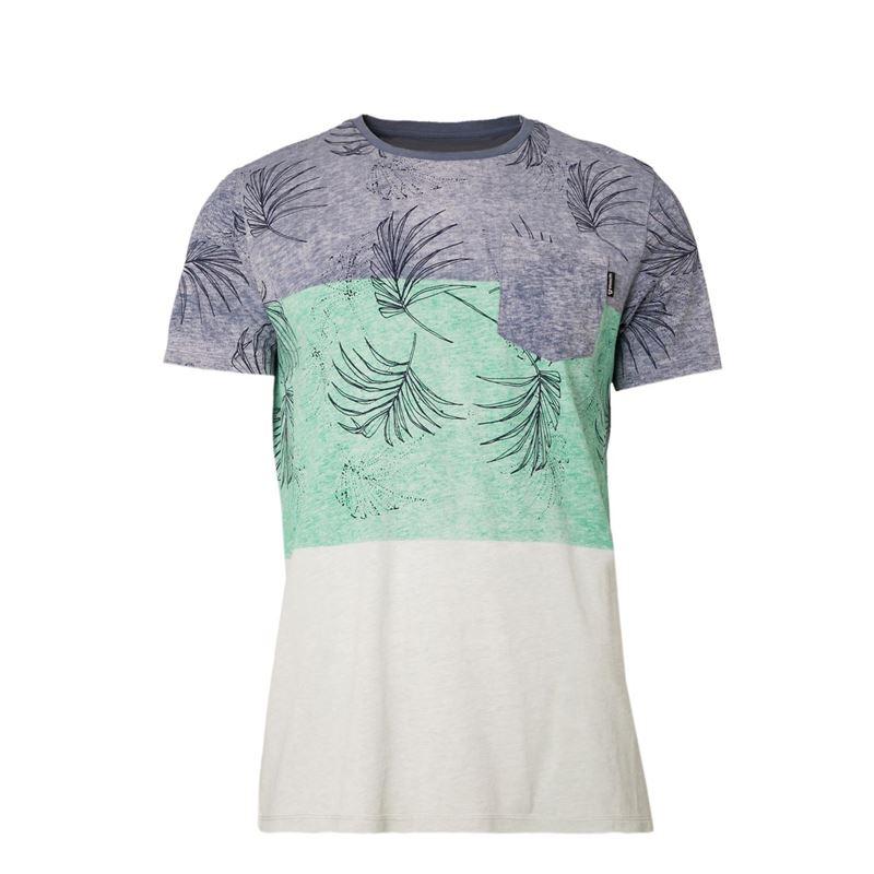 Brunotti Kasey  (blauw) - heren t-shirts & polo's - Brunotti online shop