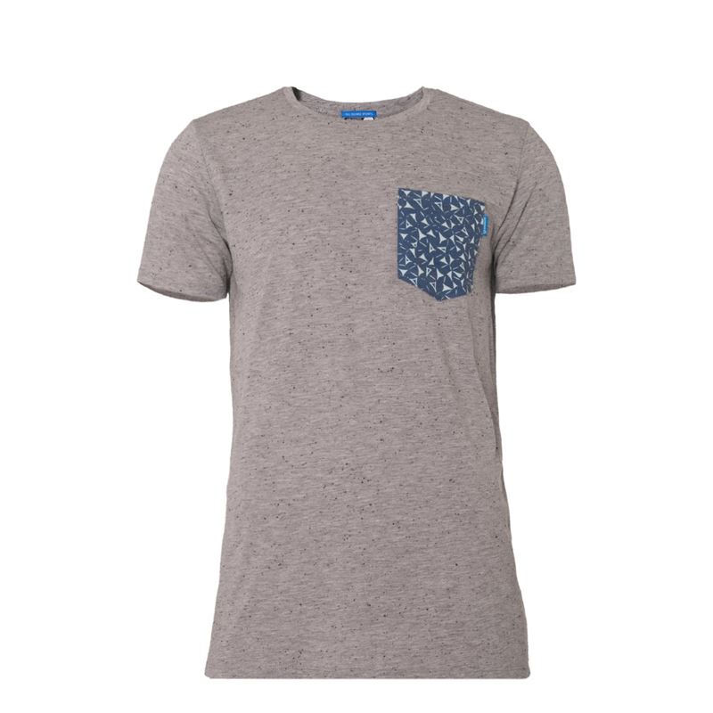 Brunotti Kean  (grijs) - heren t-shirts & polo's - Brunotti online shop