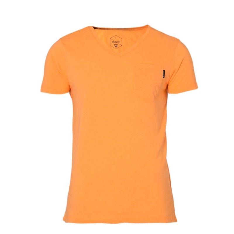 Brunotti Adrano  (orange) - men t-shirts & polos - Brunotti online shop