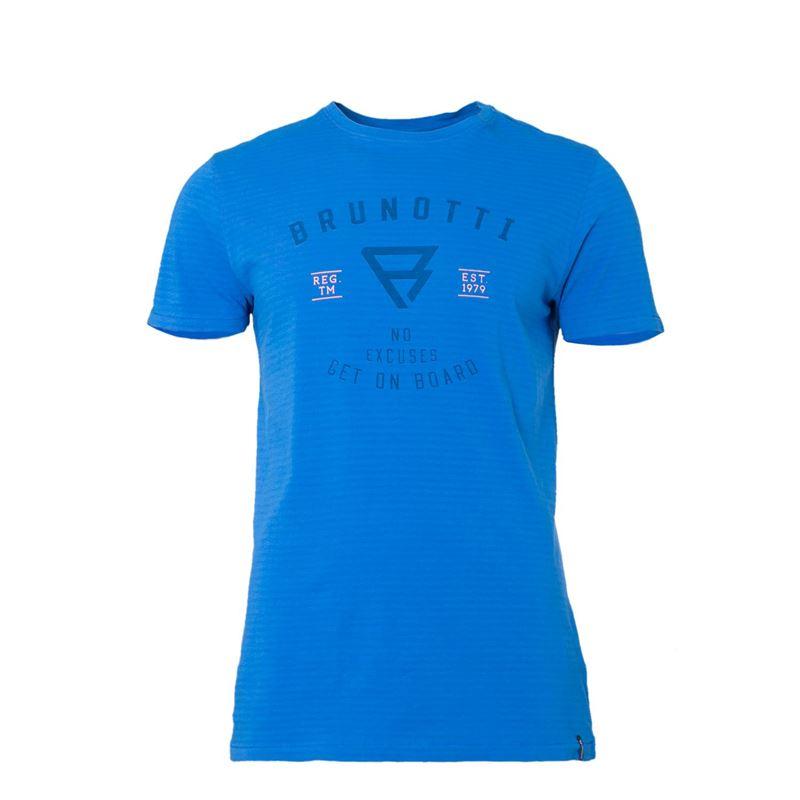 Brunotti Allastar  (blauw) - heren t-shirts & polo's - Brunotti online shop