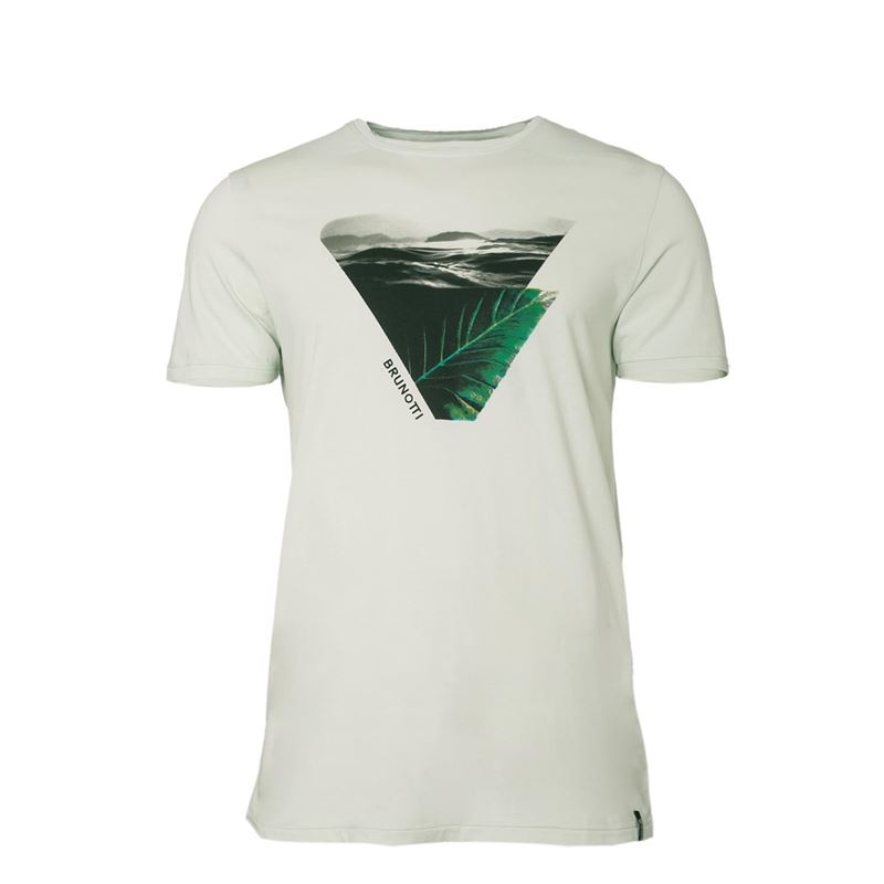Brunotti Arin Men T-shirt (White) - MEN T-SHIRTS & POLOS - Brunotti online shop