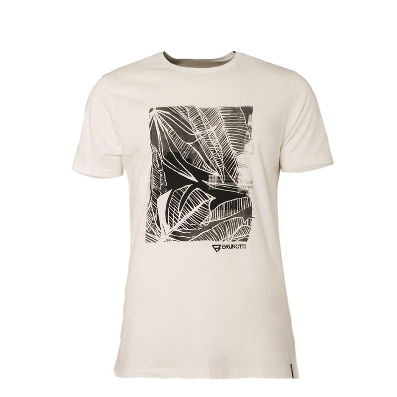 Brunotti Derby Men T-shirt (Weiß) - HERREN T-SHIRTS & POLOS - Brunotti online shop