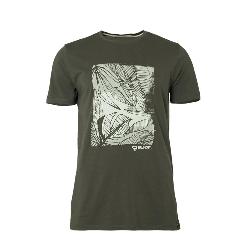 Brunotti Derby Men T-shirt (Green) - MEN T-SHIRTS & POLOS - Brunotti online shop