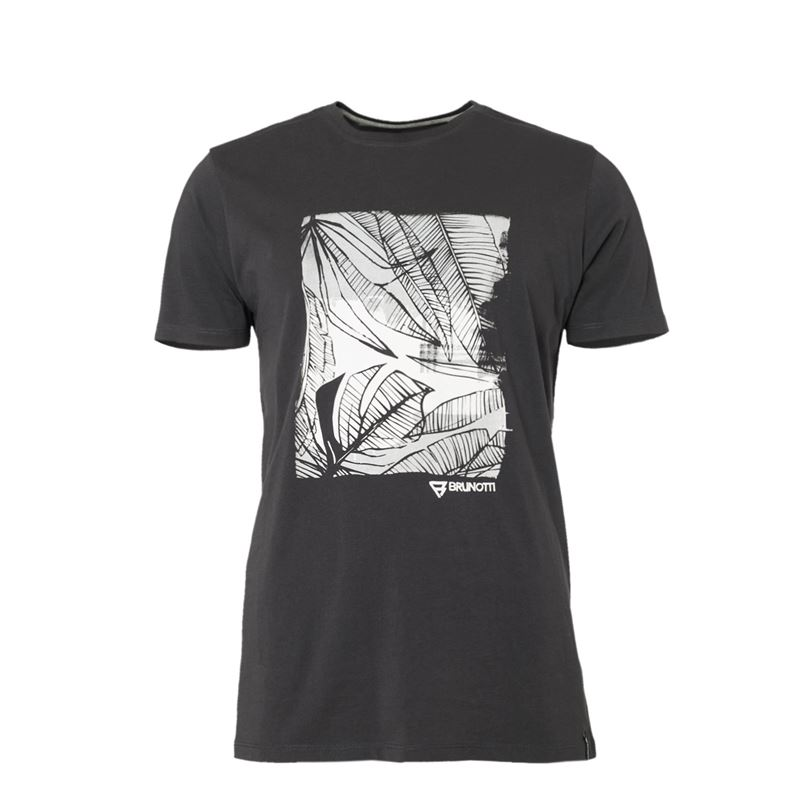 Brunotti Derby Men T-shirt (Grey) - MEN T-SHIRTS & POLOS - Brunotti online shop