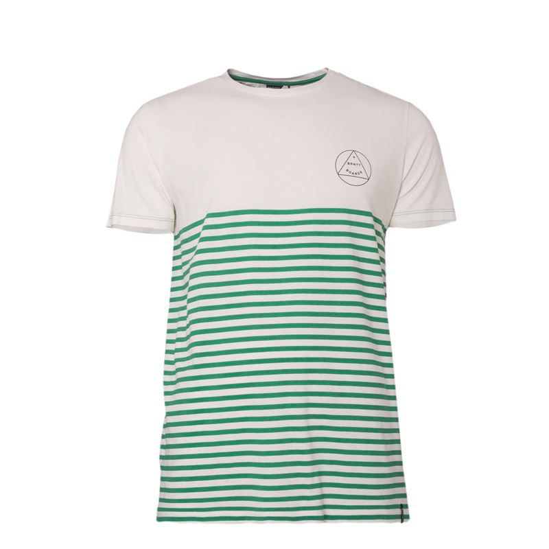 Brunotti Newry Men T-shirt (White) - MEN T-SHIRTS & POLOS - Brunotti online shop