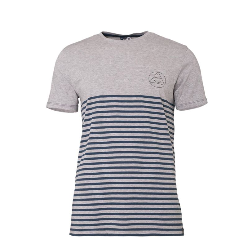 Brunotti Newry Men T-shirt (Grey) - MEN T-SHIRTS & POLOS - Brunotti online shop