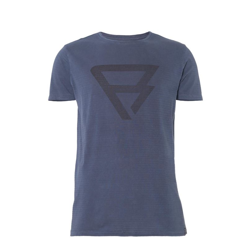 Brunotti Alec  (blauw) - heren t-shirts & polo's - Brunotti online shop