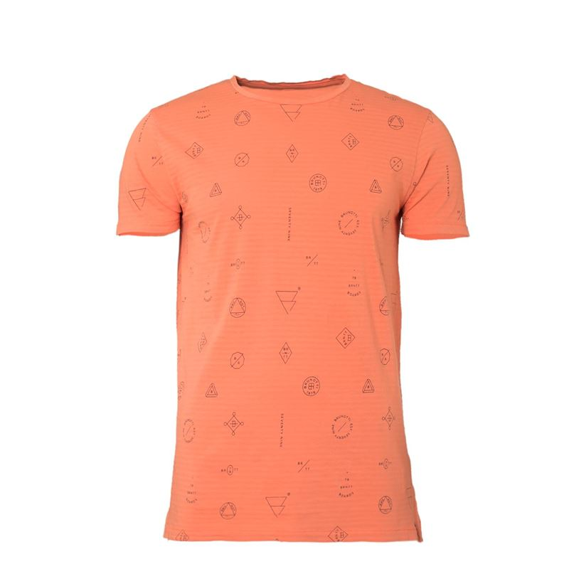 Brunotti Kay Men T-shirt (Pink) - MEN T-SHIRTS & POLOS - Brunotti online shop