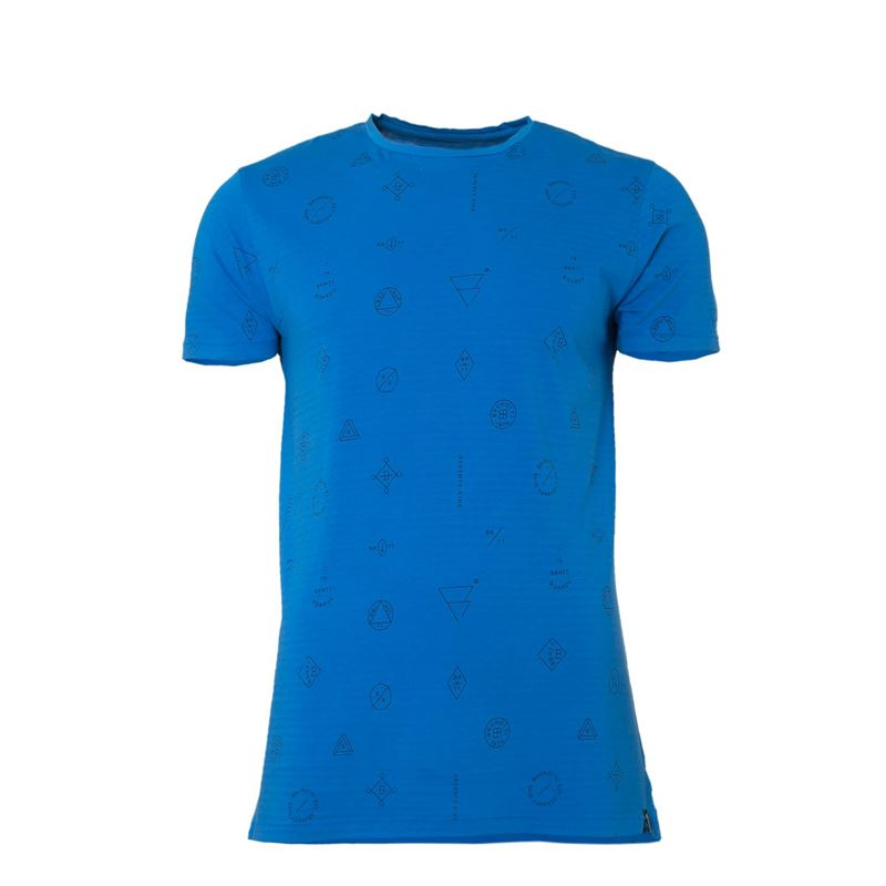Brunotti Kay  (blue) - men t-shirts & polos - Brunotti online shop
