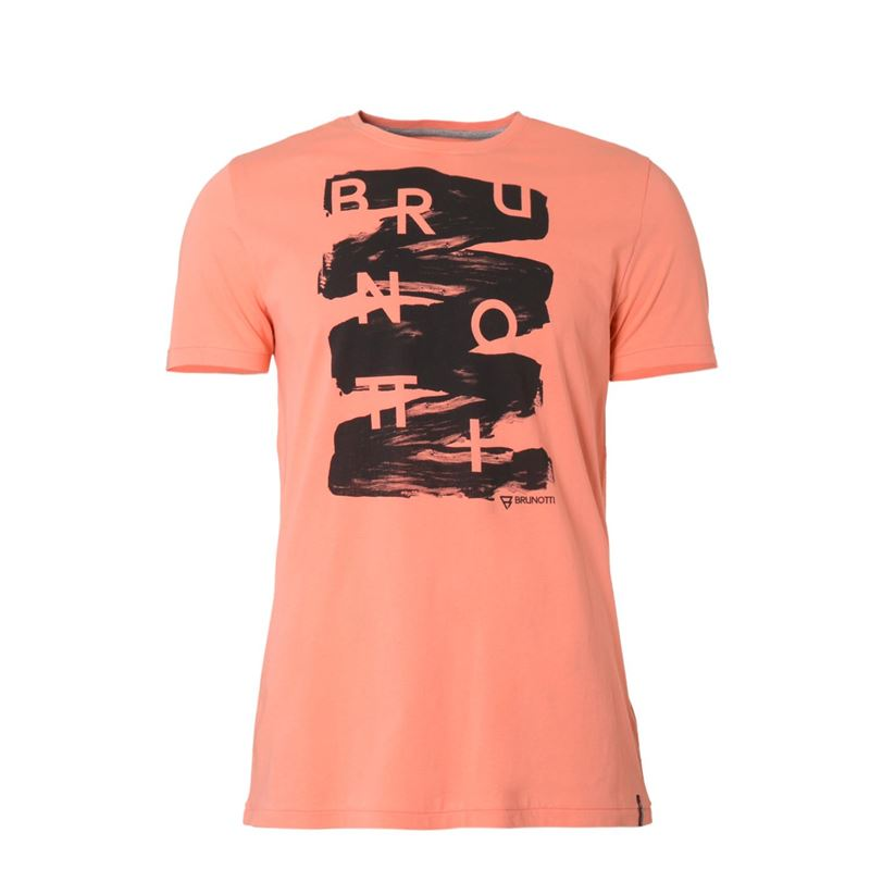 Brunotti Alberts  (orange) - herren t-shirts & polos - Brunotti online shop