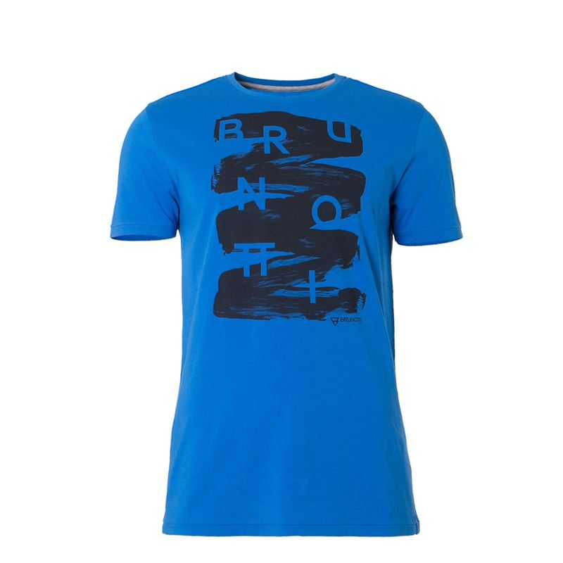 Brunotti Alberts  (blue) - men t-shirts & polos - Brunotti online shop