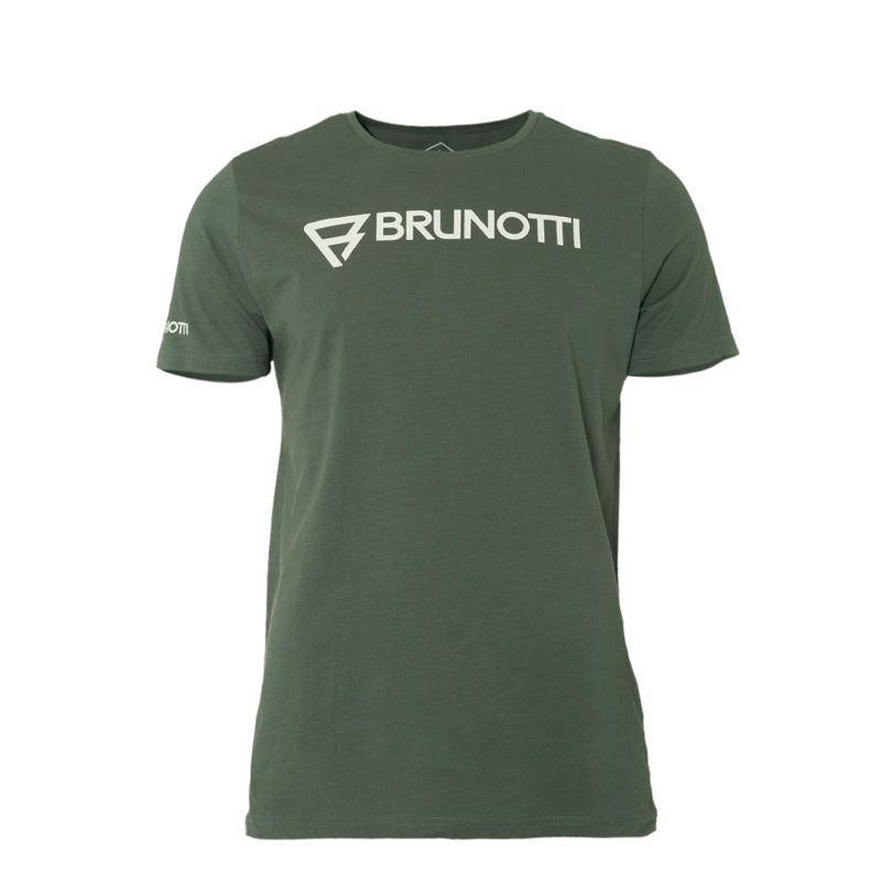 Brunotti Blazes  (groen) - heren t-shirts & polo's - Brunotti online shop
