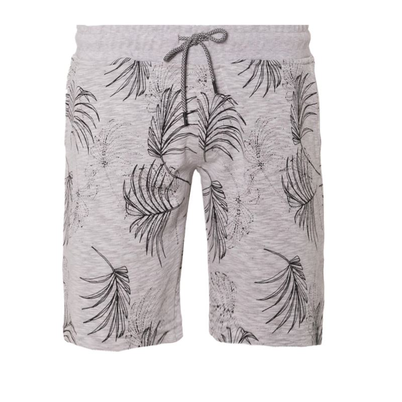 Brunotti Azel  Men Sweatshort (Grijs) - HEREN SHORTS - Brunotti online shop