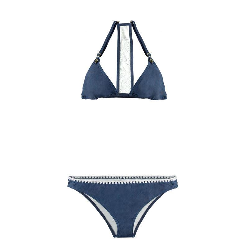 Brunotti Rosemary  (blauw) - dames bikini's - Brunotti online shop