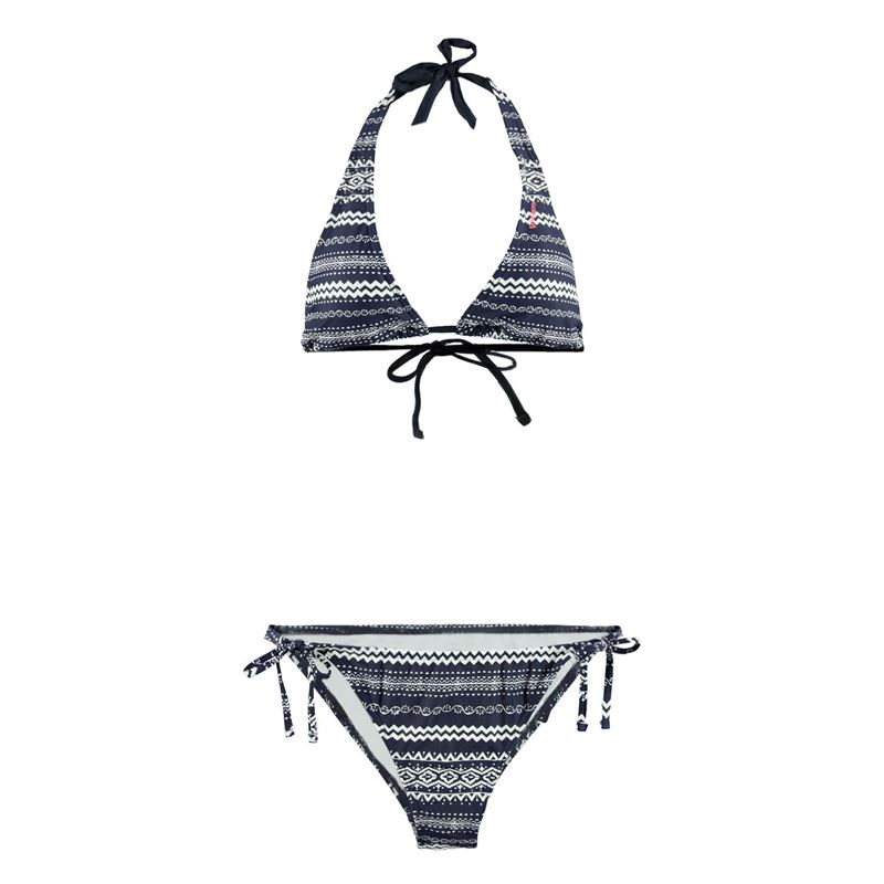 Brunotti Floor  (blauw) - dames bikini's - Brunotti online shop