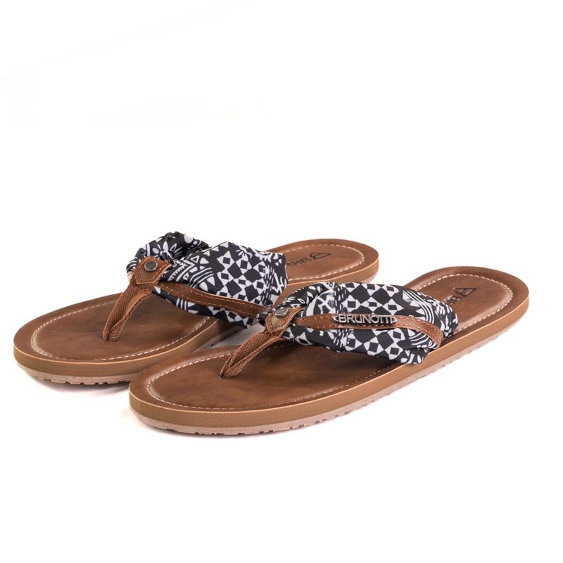 Brunotti Bamboo  (black) - women flip flops - Brunotti online shop