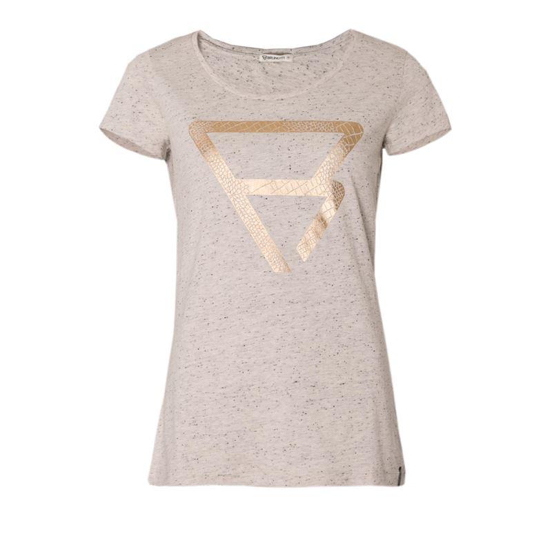 Brunotti Mongongo Women T-shirt (Grau) - DAMEN T-SHIRTS & TOPS - Brunotti online shop