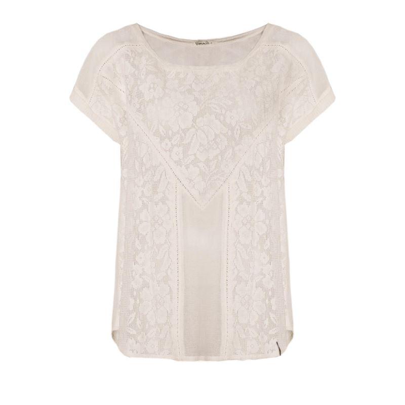 Brunotti Aster Women T-shirt (Wit) - DAMES T-SHIRTS & TOPJES - Brunotti online shop