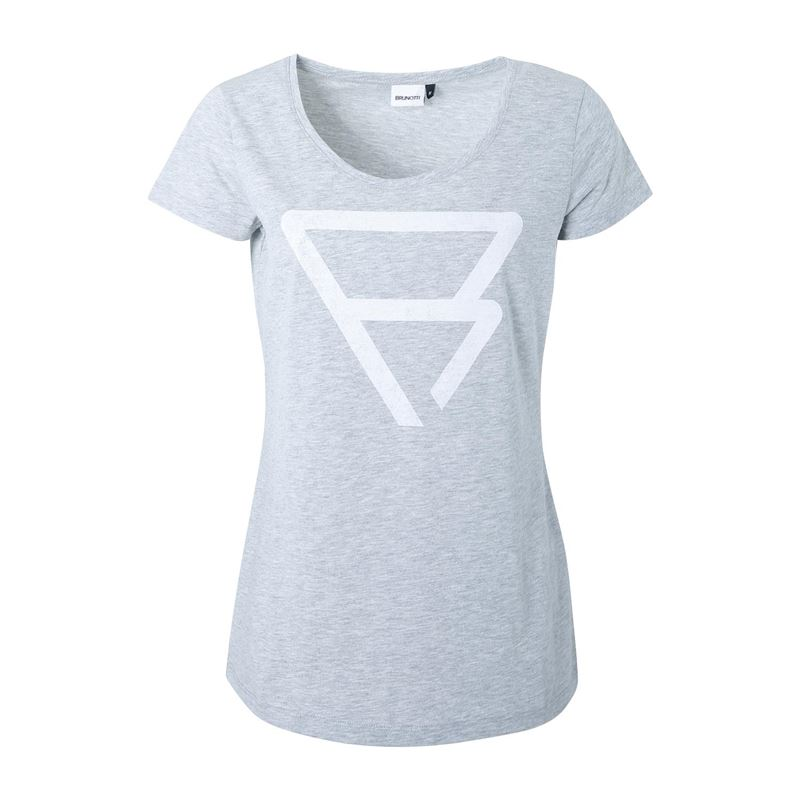 Brunotti Yarrow  (wit) - dames t-shirts & topjes - Brunotti online shop