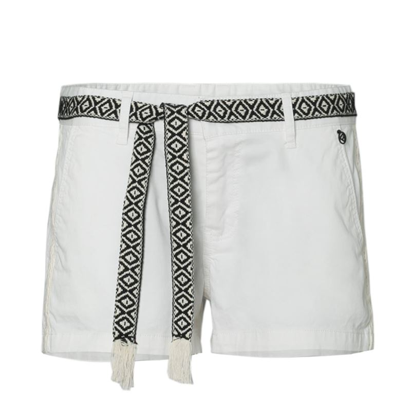 Brunotti Faros Women Walkshort (Wit) - DAMES SHORTS - Brunotti online shop