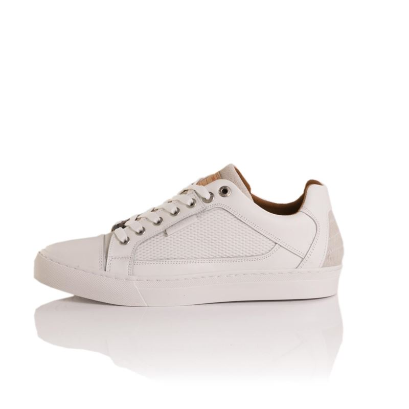 Brunotti Selino  (wit) - heren schoenen - Brunotti online shop