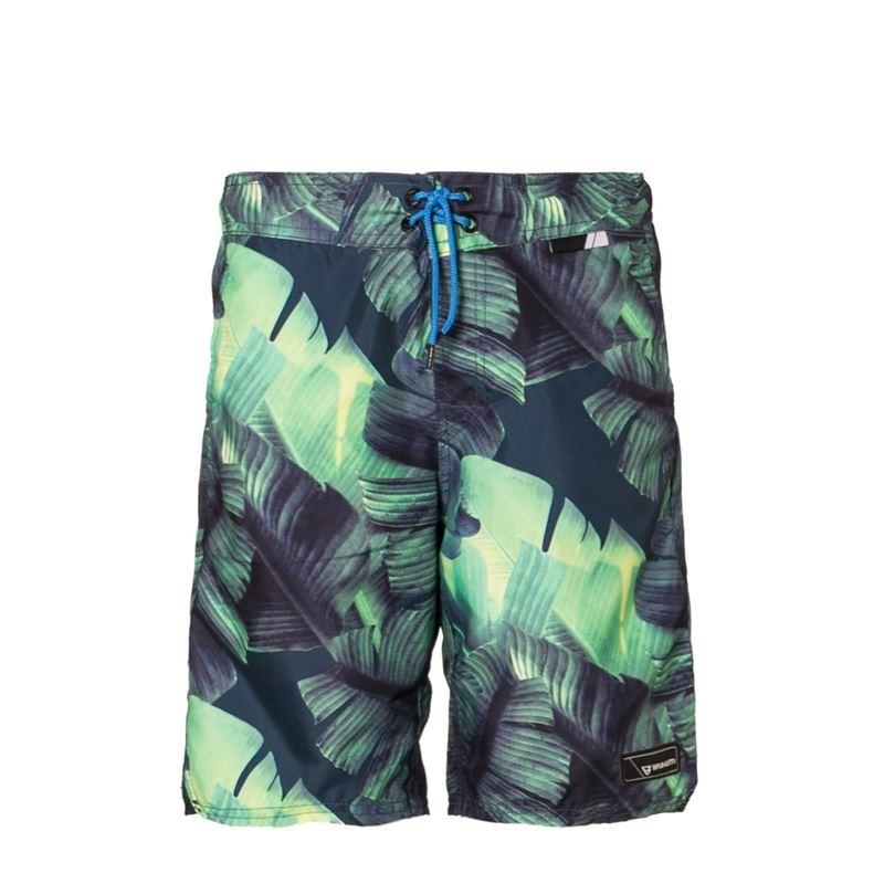 Brunotti Chester JR Boys  Shorts (Groen) - JONGENS ZWEMSHORTS - Brunotti online shop