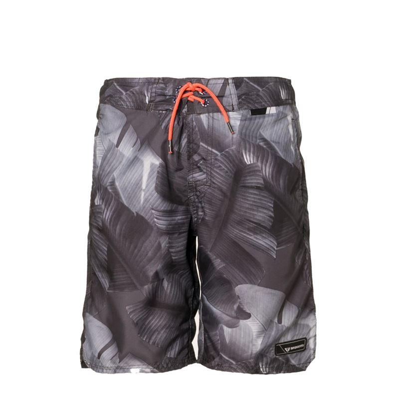 Brunotti Chester  (zwart) - jongens zwemshorts - Brunotti online shop