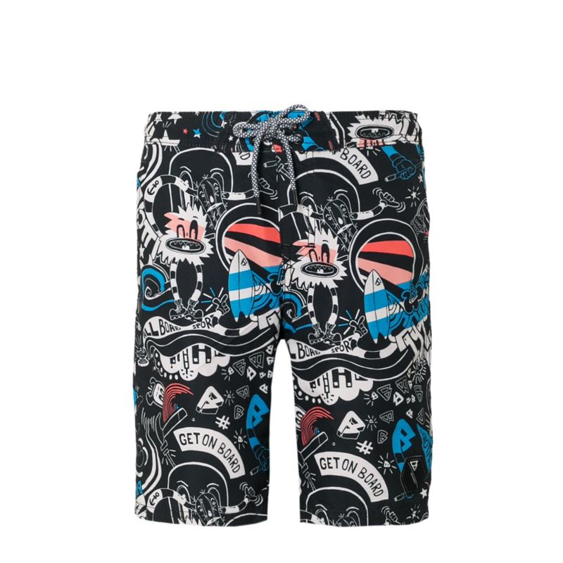 Brunotti Clark  (black) - boys swimshorts - Brunotti online shop