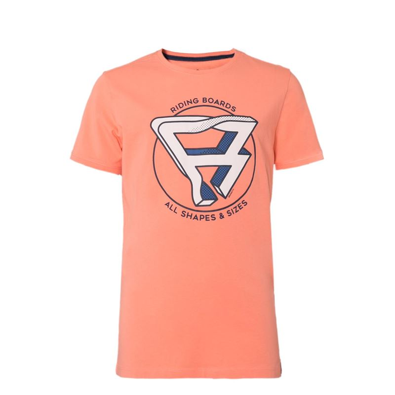 Brunotti Marvin JR Boys  T-shirt (Roze) - JONGENS T-SHIRTS & POLO'S - Brunotti online shop