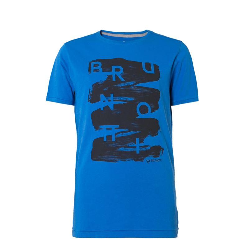 Brunotti Alberts  (blauw) - jongens t-shirts & polo's - Brunotti online shop