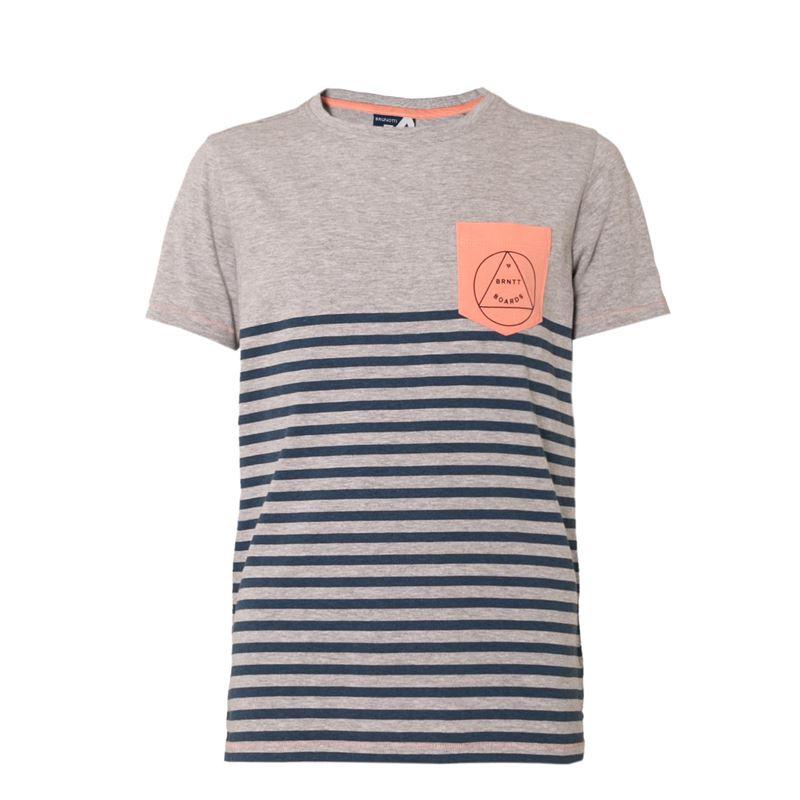 Brunotti Newry  (grijs) - jongens t-shirts & polo's - Brunotti online shop