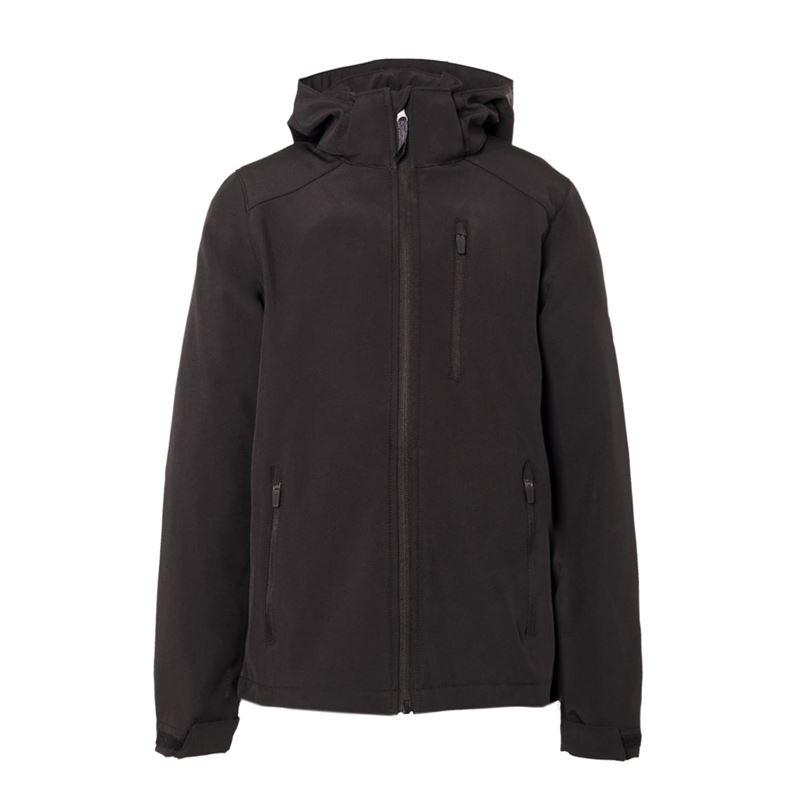 Brunotti Mosky JR Boys  Softshell Jacket (Black) - BOYS JACKETS - Brunotti online shop