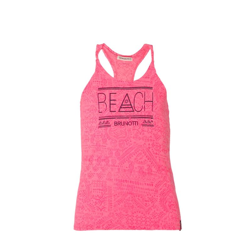 Brunotti Ugo JR Girls Top (Roze) - MEISJES T-SHIRTS & TOPJES - Brunotti online shop